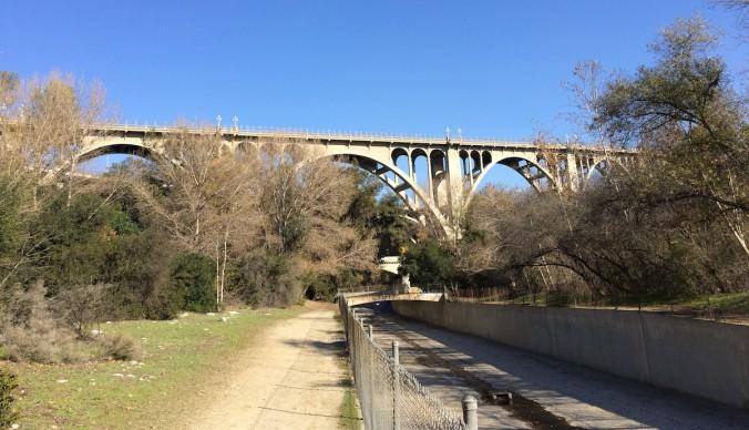 1 - Colorado Street Bridge looking North